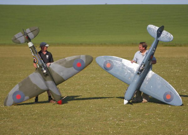 Flying Legends 1/4 RC Spitfire Kit — Product News & Reviews | radio-controlled | Spitfire Mk. IX