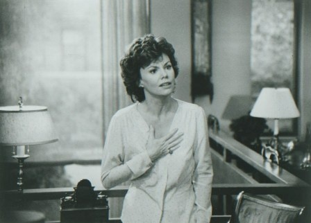 """Jennie MacLaine (Marsha Mason) to George Schneider (James Caan): """"I am wonderful, I'm nuts about me, and if you're stupid enough to throw someone sensational like me aside, you don't deserve as good as you've got."""" -- from Chapter Two (1979) directed by Robert Moore"""