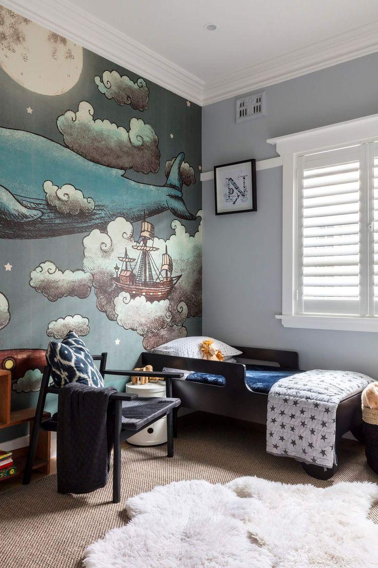 A Bronte Beauty est living Boys room wallpaper, Beach