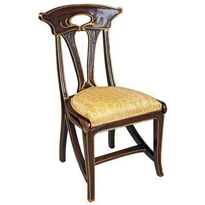 Toscano, AF551319, , Toscano Af551319 Majorelle Art Nouveau Arm Chair Nr