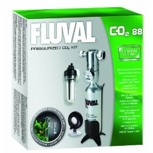 Fluval Pressurized 88g-CO2 Kit - 3.1 Ounces (Misc.)