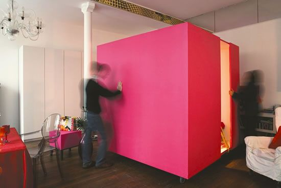 Cube bedroom