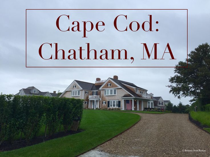 Chatham is the quintessential Cape Cod town, complete with beaches, beautiful homes, hydrangeas, and great shopping. Check out the best of Chatham here!