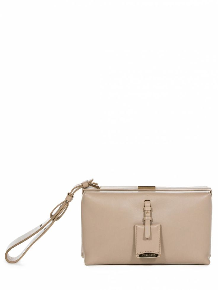 Jil Sander clutch in vitello