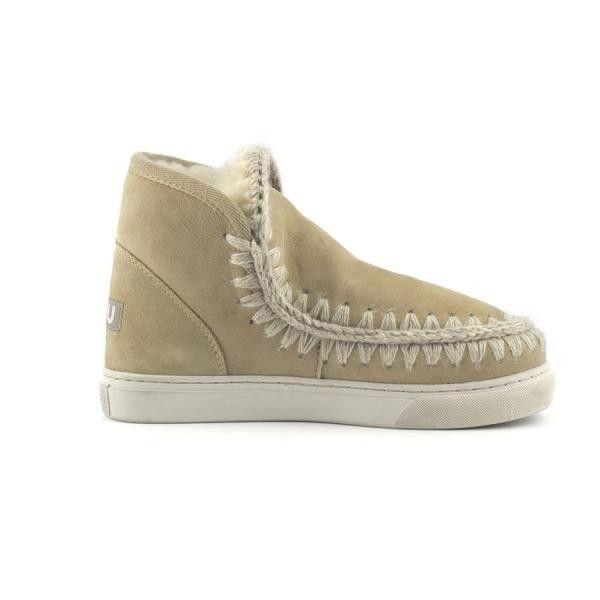 Mou Boots Mini Eskimo Sneaker Women Stone Sand - MOU #mou #boots #mouboots #sneaker #women #fashion