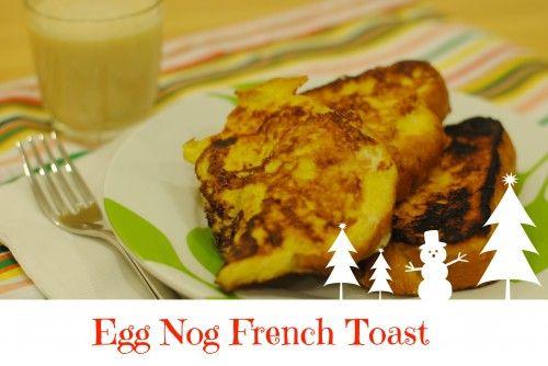 egg nog french toast