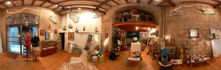 360º de tienda La Carbonera | Drap Art
