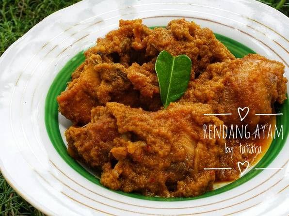 Resep Rendang Ayam Oleh Tatiara Resep Di 2020 Makanan Resep Resep Ikan