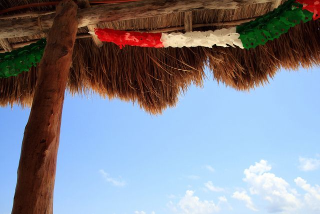 palapa mexicana by Heidi Leon Monges, via Flickr