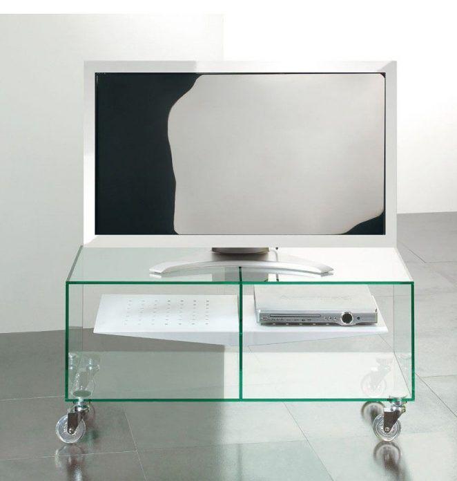 meubles en verre mobilier de salon