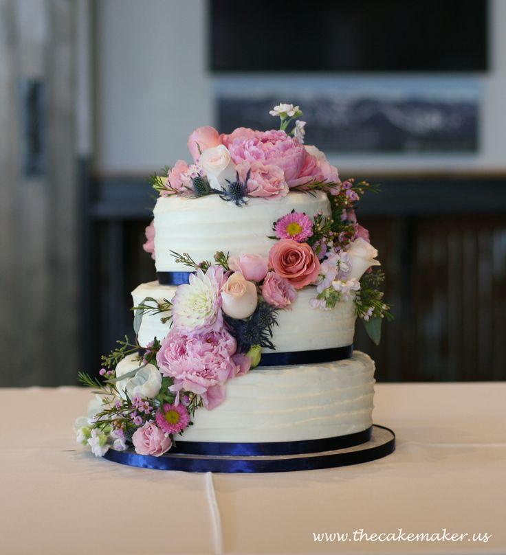 Best Buttercream Wedding Cake Ideas On Pinterest Elegant