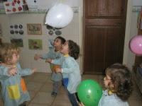 Psicomotricitat amb globus
