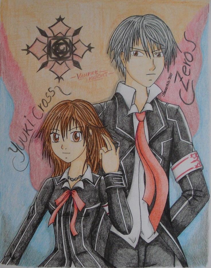 Yuki Cross and Zero by on