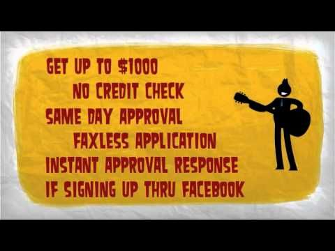 Payday Loans Las Vegas  Mypaydayloan offers - up to $1000 no credit check faxless application same day loan approval instant approval response if signing up through your Facebook account The website provides payday loans not only for Las Vegas but other states as well.  link to website --> http://ineedaloanusa.com/paydayloanslasvegas