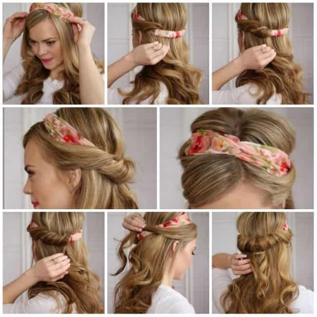 Summer Headscarf Trends For Hair Loss In 2020 Scarf Hairstyles Headband Hairstyles Hair Styles