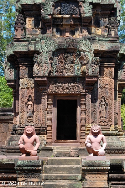 Angkor Temples - Banteay Srei.