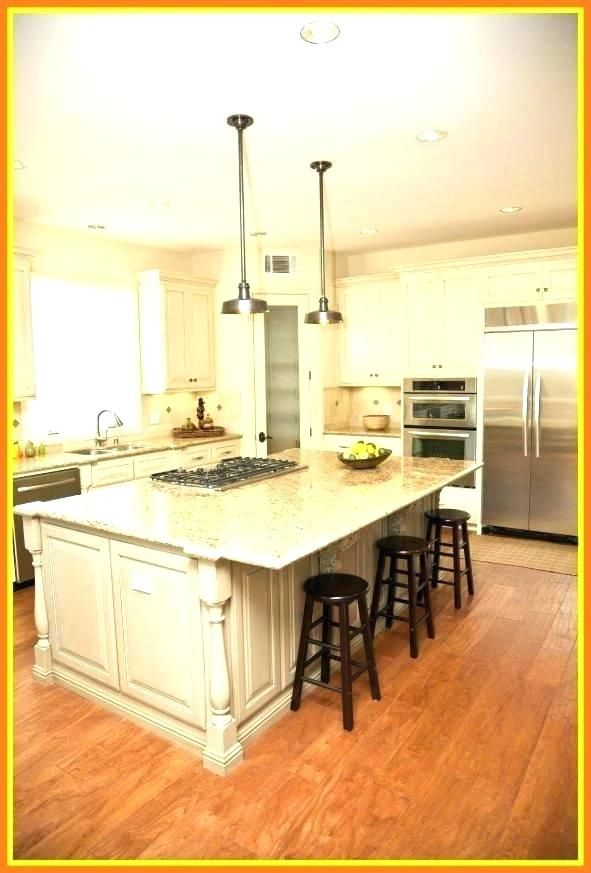 kitchen island overhang island overhang kitchen island overhang fascinating image of kitc on kitchen remodel no island id=21615