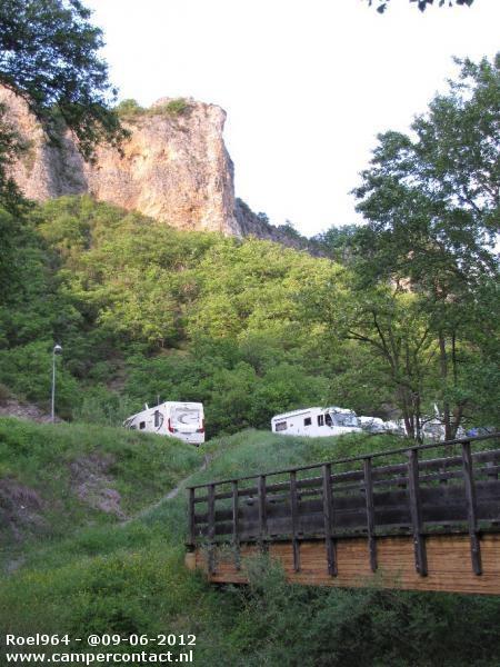 Camperplaats Digne les Bains - Parking - Frankrijk