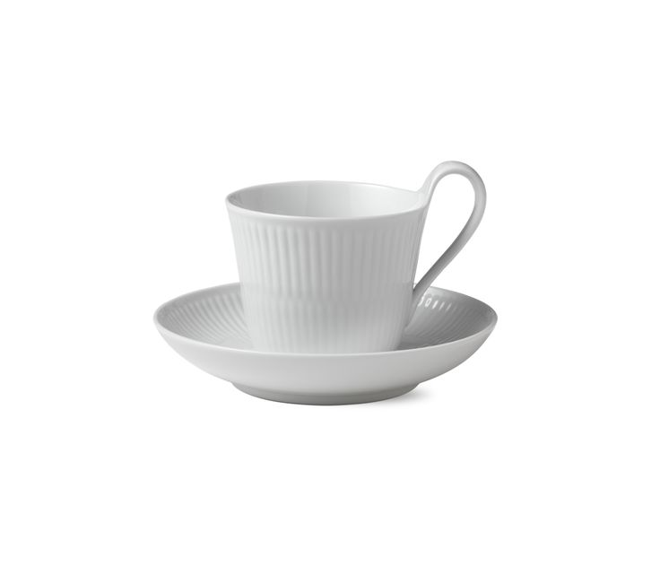 Cups & Mugs High handle cup and saucer