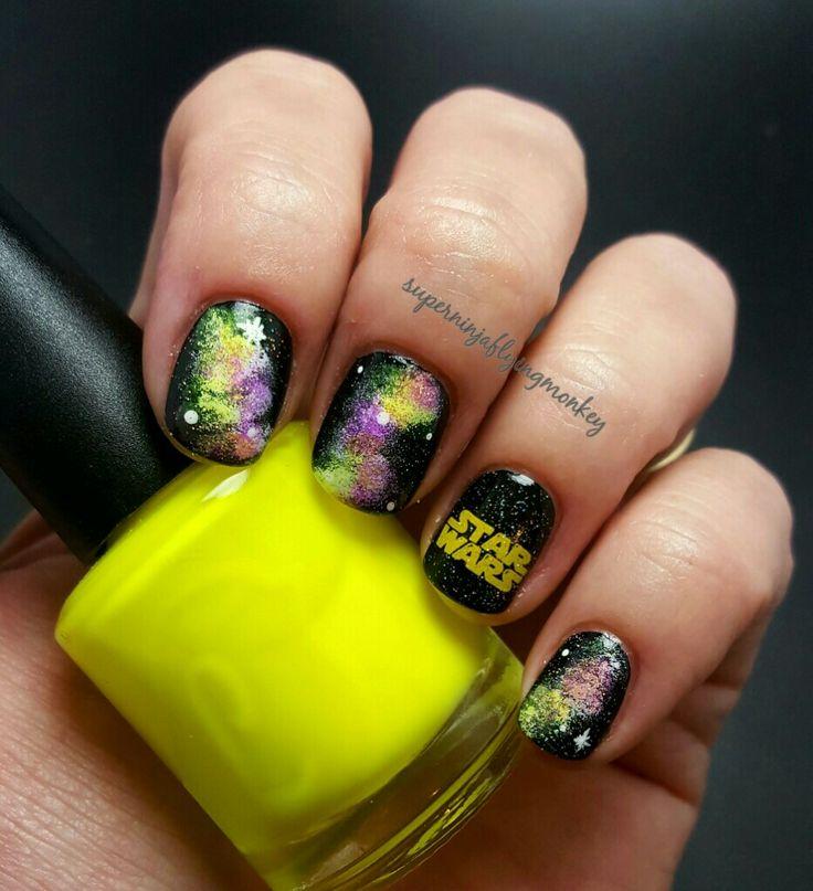 Mejores 11 imágenes de Nails star wars en Pinterest | Starwars ...