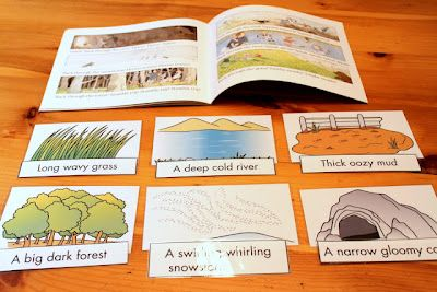 We're Going On a Bear Hunt-with several language activities that go along with the book. From The Speech Ladies. Pinned by SOS Inc. Resources @sostherapy.