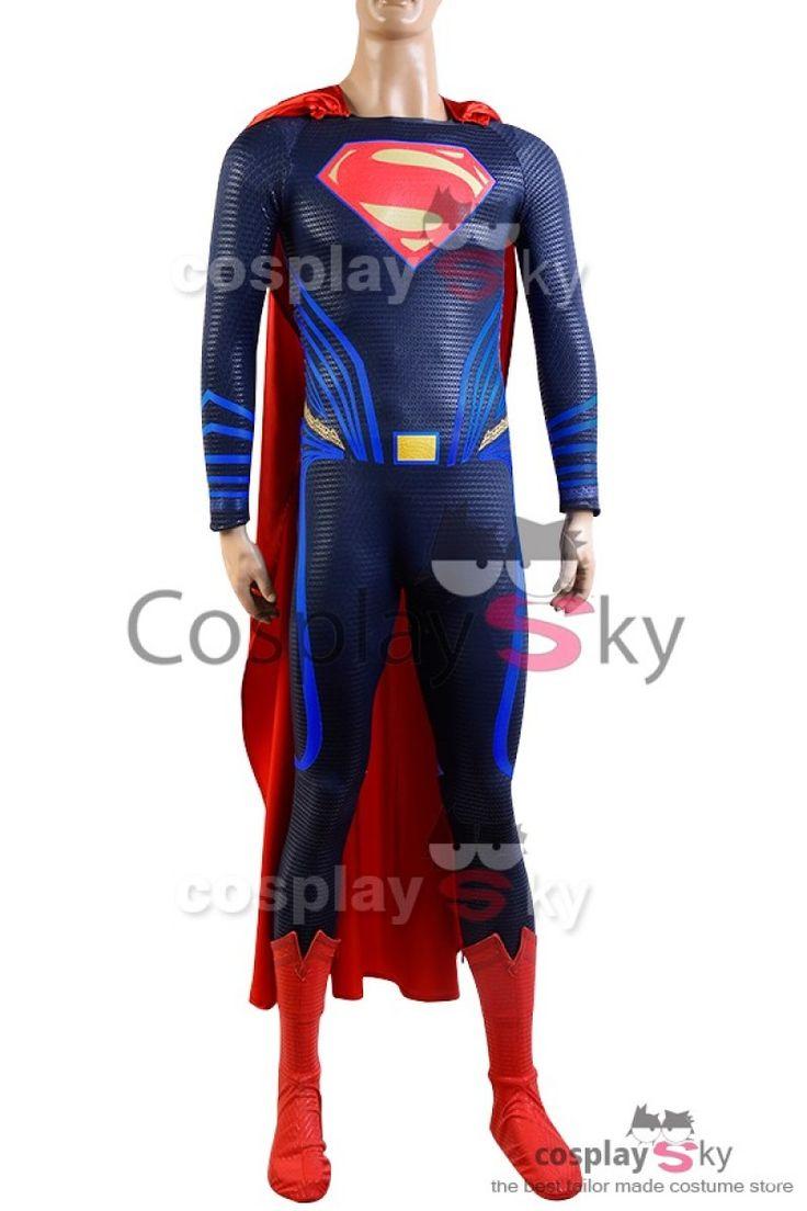 Superman Cosplay Costume de Justice League_1