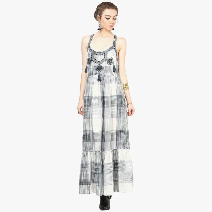 Kanta Long Floaty Dress