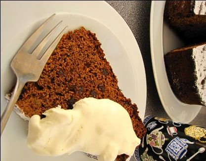 """Guinness Cake, as found in """"Take Away"""" stands in Ireland."""