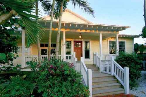 Florida beach bungalow