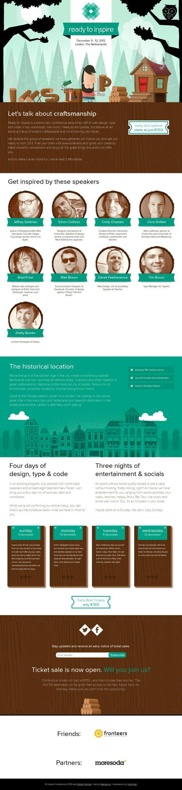 Inspire Conference - Best website, web design inspiration showcase…