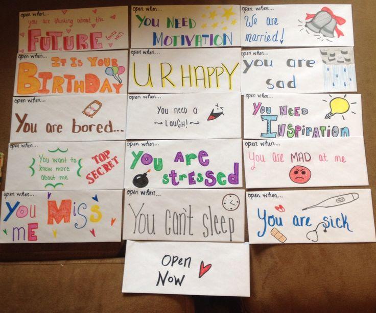 """""""Open When"""" Letters For My Long Distance Boyfriend!"""