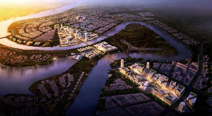 Sino-Singapore Eco City - Tianjin, China - RSAA-RS associated architects
