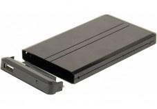 Boitier Aluminium pour disque dur IDE 2,5 noir