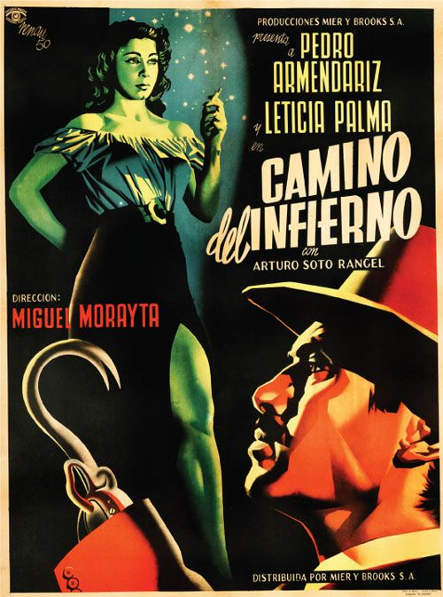 Mexican poster from the 1950s