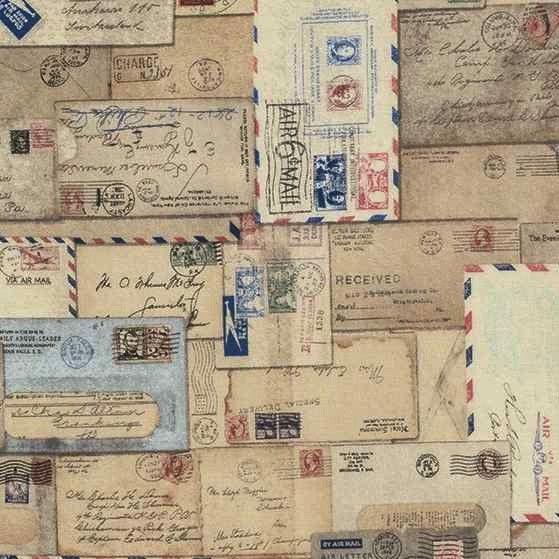 Tim Holtz Correspondence Letter Neutral  $5.99 CAD