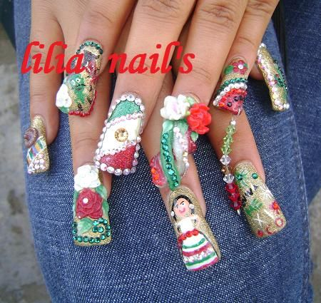 Sinaloa Nails Pictures | ... ME ENCANTAN TUS UÑAS - Nail Art Archive - Style - NAILS Magazine