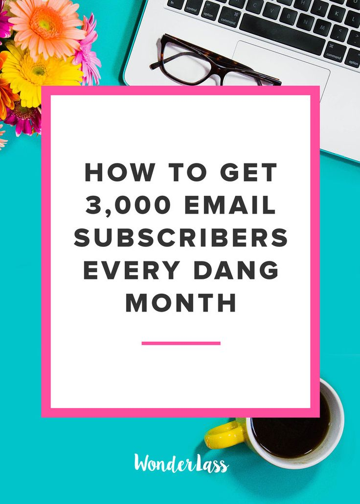 The 7 Strategies I Use to Get around 3,000 new Subscribers Each Month…