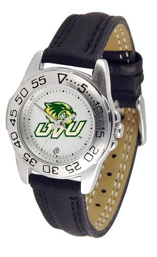 Utah Valley University Women's Leather Band Athletic Watch