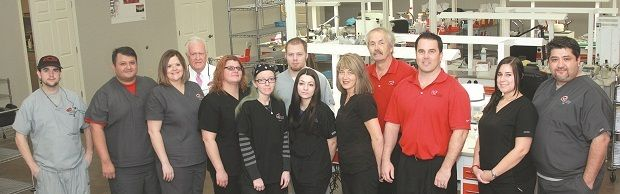 R-Dent Dental Laboratory: Boosting Motivation and Morale with Incentives and Recognition-   Bartlett, TN Owners: Randy & Daxton Grubb 42 employees When Daxton Grubb joined his father Randy's laboratory in 2002 after working at a Fortune 500 company, he had already learned a thing or two about employee motivation.