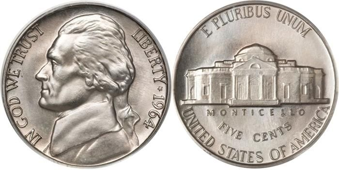 Jefferson Nickel 1938 Now Us Coin Guide Images Facts