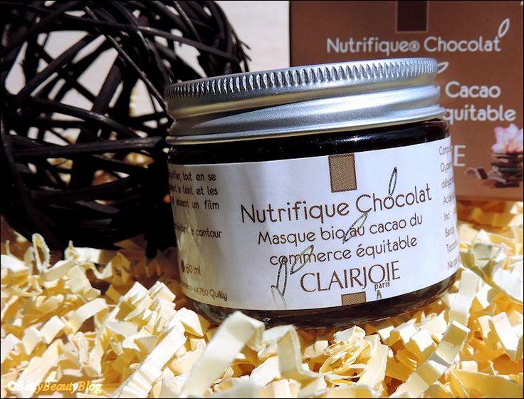 Gagnez votre masque au chocolat Clairjoie, cosmétiques bio chez Betty Beauty Blog !  http://www.bettybeautyblog.com/concours-clairjoie-a112970618