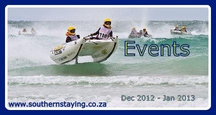 Struisbaai Events Dec 2012 - Jan 2013