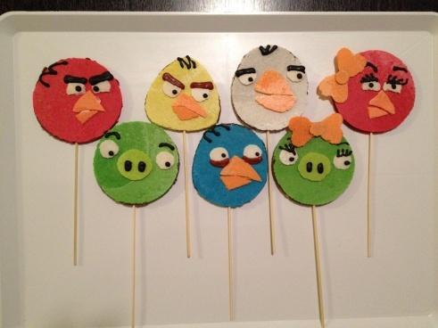Angry Birds...obleas rellenas de tamarindo