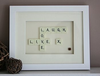 I heart DIY. I heart Scrabble. A personalized version of this will be happening.