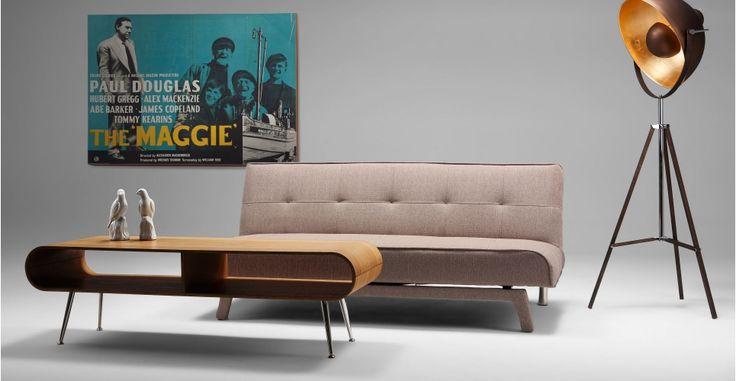Divano letto yoko in color sabbia - MADE.COM | made.com