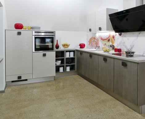 Moderní designová kuchyně Celine. Kuchyně a spotřebiče jedné značky - gorenje. #kuchyně #design #interiér #domov #gorenje