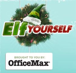 Free Elf Yourself Video and Calendar from Office Max THIS IS TO CUTE TRY IT! TURN INTO A DANCING ELF :)