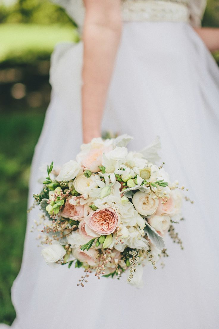 #Bouquet | Romantic Sydney Wedding at Hazelhurst Art Gallery | See more on SMP - http://www.StyleMePretty.com/australia-weddings/new-south-wales-au/sydney/2014/01/22/romantic-sydney-wedding-at-hazelhurst-art-gallery/ David Robertson Photography