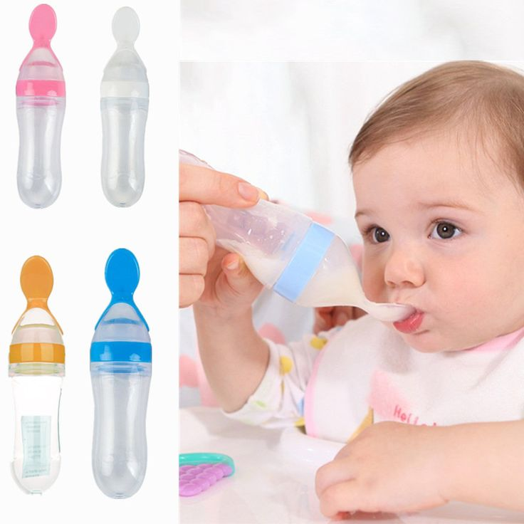 >> Click to Buy << Baby feeding products Baby milk bottle Arc Silica gel  90ml Wide aperture high temperature resistance Spoon Feeding bottle #Affiliate