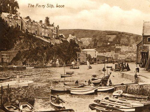 The Ferry Slip, Looe, Cornwall, England